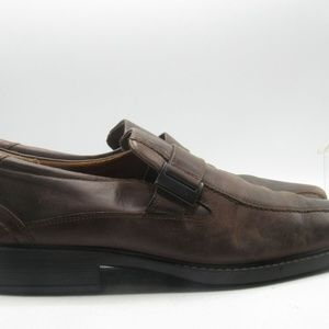 ECCO Shoes - Ecco Size 13 M/EU 46 Brown Leather Loafer B6 A1